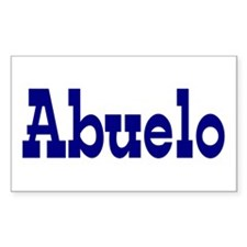 Abuelo Vinyl Decal