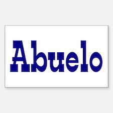 Abuelo Vinyl Decal