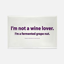 Fermented Grape Nut Rectangle Magnet
