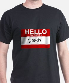 Hello My Name Is Wendy T-Shirt