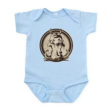 Distressed Wild Boar Stamp Infant Bodysuit