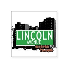 """New Section Square Sticker 3"""" x 3"""""""