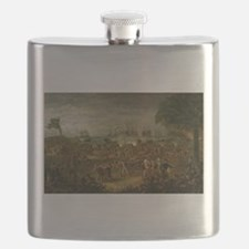 fort moultrie Flask