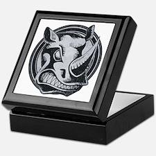 Distressed Wild Rhino Stamp Keepsake Box
