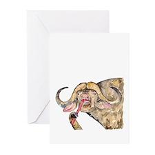 Distressed Wild Rhino Stamp Tea Tumbler