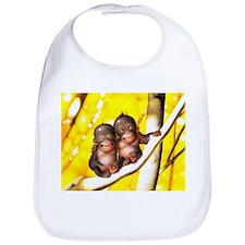 Cool Cute monkeys Bib
