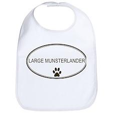 Oval Large Munsterlander Bib
