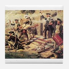 battle of springfield Tile Coaster