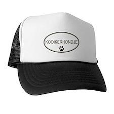 Oval Kooikerhondje Trucker Hat