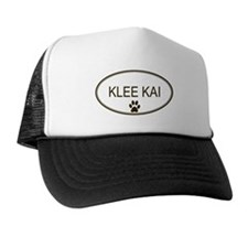 Oval Klee Kai Trucker Hat