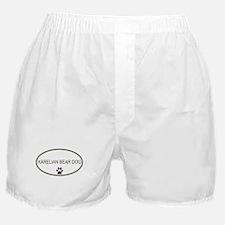 Oval Karelian Bear Dog Boxer Shorts
