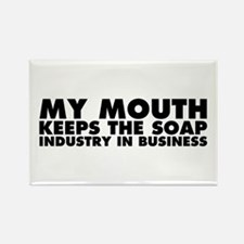 My Mouth Keeps the Soap Industry in Business Recta