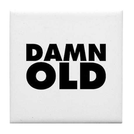 Damn Old Tile Coaster