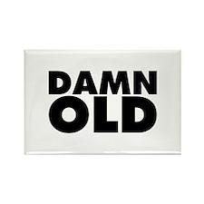 Damn Old Rectangle Magnet (100 pack)