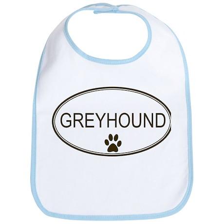Oval Greyhound Bib