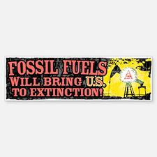 Fossil Fuels bring U.S. Bumper Bumper Bumper Sticker