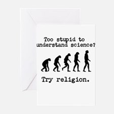 Too stupid to understand science? Try religion. Gr