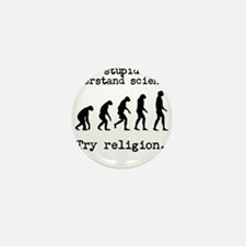 Too stupid to understand science? Try religion. Mi