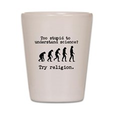 Too stupid to understand science? Try religion. Sh