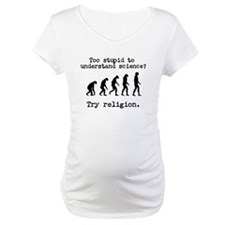 Too stupid to understand science? Try religion. Ma