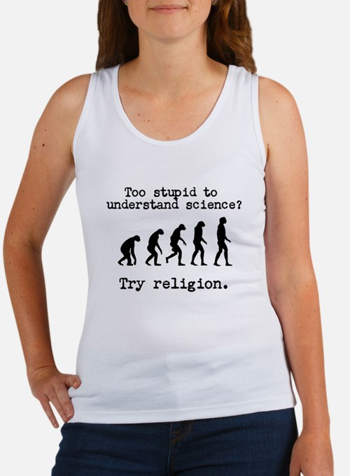 Too stupid to understand science? Try religion. Ta