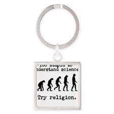 Too stupid to understand science? Try religion. Ke