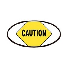 Caution Sign Patches