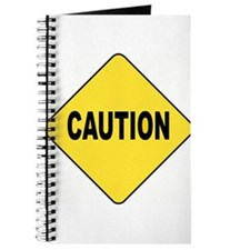 Caution Sign Journal