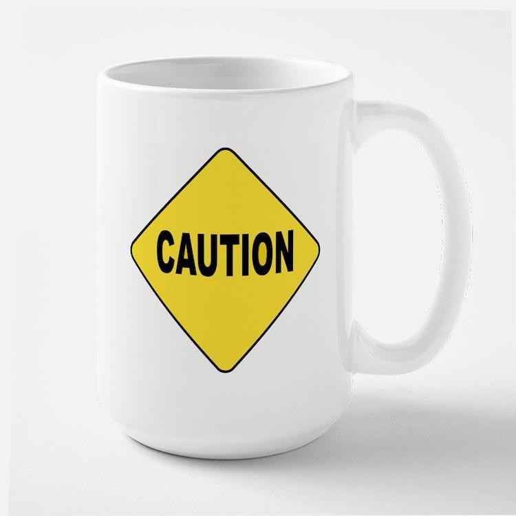 Caution Sign Mug