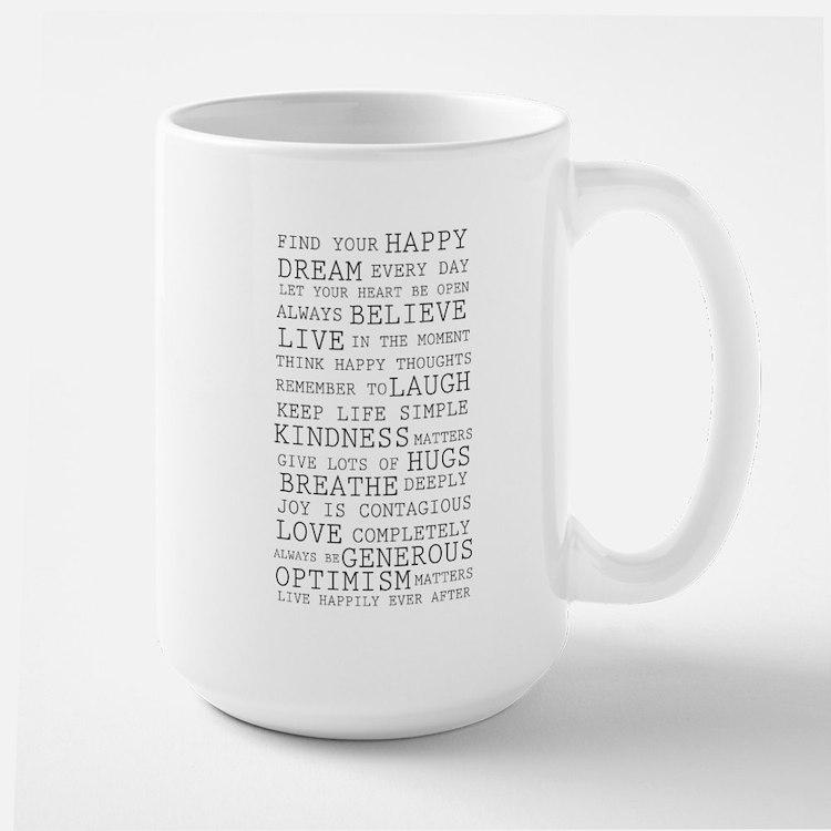 Positive Thoughts Mug