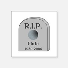 RIP Pluto Sticker