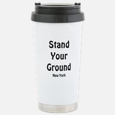 Stand Your Ground (black) Stainless Steel Travel M