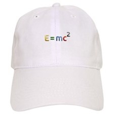 Einstein E=mc2 Baseball Baseball Cap