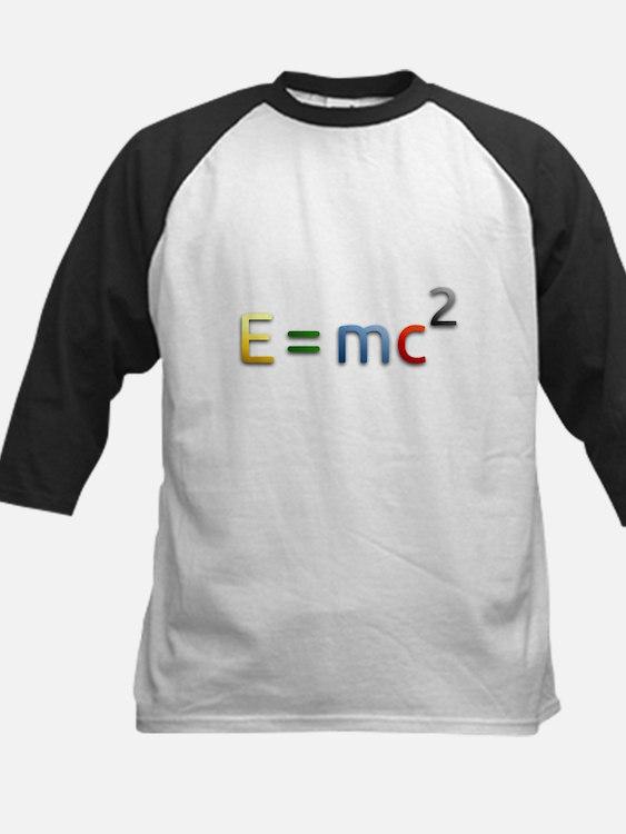 Einstein E=mc2 Baseball Jersey