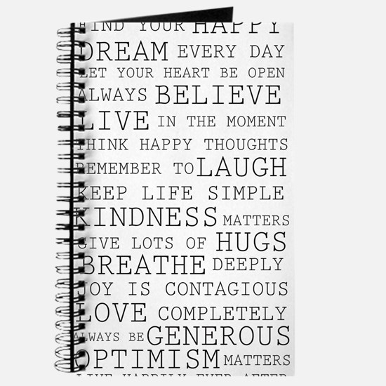 Positive Thoughts Journal
