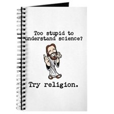 Too stupid to understand science? Try religion. Jo