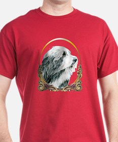 Bearded Collie Holiday/Christmas T-Shirt