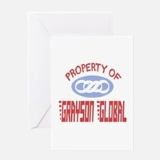 Property of Grayson Global Greeting Card