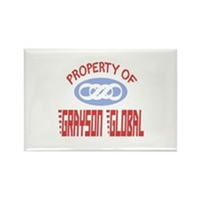 Property of Grayson Global Rectangle Magnet