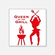 Queen Of The Grill (Barbecue) Sticker