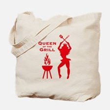 Queen Of The Grill (Barbecue) Tote Bag