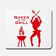 Queen Of The Grill (Barbecue) Mousepad
