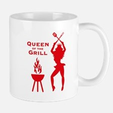 Queen Of The Grill (Barbecue) Tasse