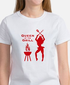 Queen Of The Grill (Barbecue) T-Shirt