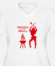 Queen Of The Grill (Barbecue) Plus Size T-Shirt