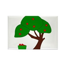 Apple Tree Rectangle Magnet (100 pack)