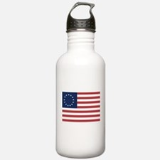 13 Star Colonial American Flag Water Bottle