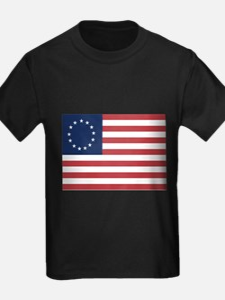 13 Star Colonial American Flag T-Shirt