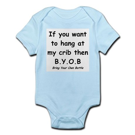 Bring Your Own Bottle to Hang Infant Bodysuit
