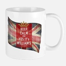Funny Keep Calm Royal Baby Mug